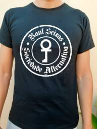 Camiseta Banda, Rock, Metal Raul Seixas - Sociedade Alternativa