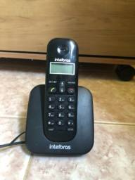 Telefone Intelbras Sem Fio com Carregador