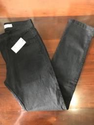 Calça jeans Skinner com elastano
