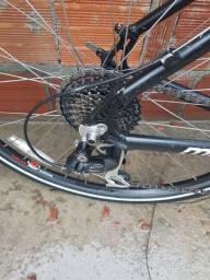 Bike híbrida, troco em TV