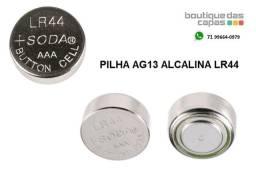 Pilha bateria ag13 alcalina LR44 Relógios, brinquedos,