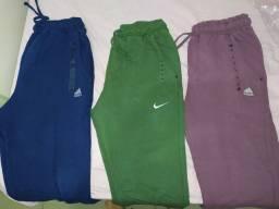 Calça moletom Adidas e Nike nova, negocio preço
