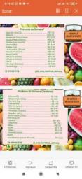 Frutas,verduras e hortaliças delivery