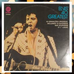 Vinil - Elvis 40 Greatest - Álbum duplo
