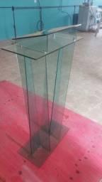 Púlpito vidro verde 6mm