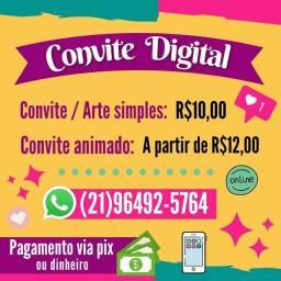 Convites digitais
