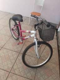 Bicicleta samy Feminina Aro 24 estado de Nova Divido