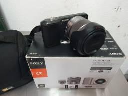 Câmera reflex Sony
