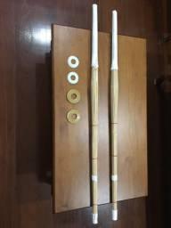 Espadas Shinai seminovas + Tsubas e borrachas