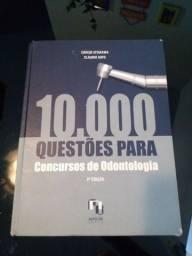 Livro 10.000 Questões Para Concursos de Odontologia