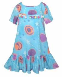 Vestido Infantil de Viscose