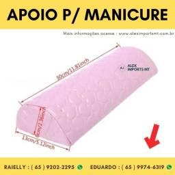 Apoio de braço para Manicure Suporte de Braco Cliente unha