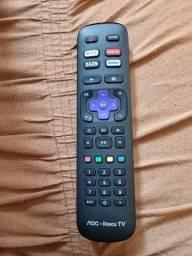 Título do anúncio: Controle aoc roku tv original! Funcionando