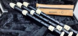 Três (3) Flautas Michael alto  WRAM 31