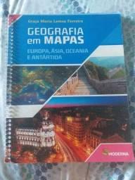 Livro geografia em mapas