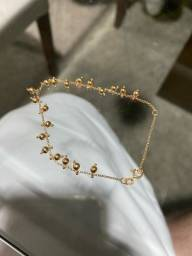 Pulseira feminina ouro 18k