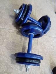 Musculação/HALTERES /ANILHAS