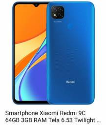 Xiaomi redmi 9 c novo lacrado