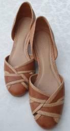 Sapato de couro Arezzo