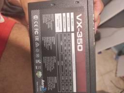 Vendo fonte gamer vx-350 aerocool