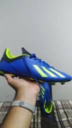 Chuteira Adidas X 18.4 FG Campo N°44