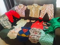 Lote roupa bebê menino