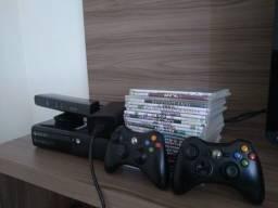 Xbox 360 super slim desbloqueado com Kinect