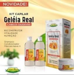 Título do anúncio: Kit capilar Geleia real, Reconstrução, Vitalidade Nutrição