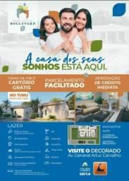 Título do anúncio: P/M: Quer morar pertinho de tudo, casas no Turu em condomínio fechado
