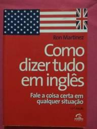 Título do anúncio: Livro Como Dizer Tudo em Inglês