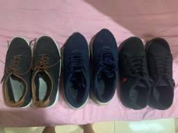 Sapatos e tenis masculino n 37 usados