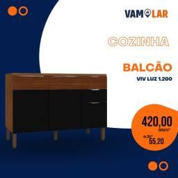 Título do anúncio: Balcão bella 1,05 M - Luxuosa - Frete grátis