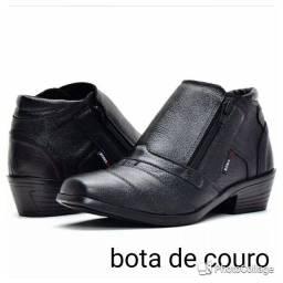 Botas de couro ( delivery)