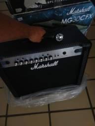 Título do anúncio:  Amplificador Marshall MG30CFX - NOVO