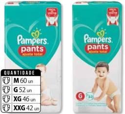 Título do anúncio: Fraldas pampers