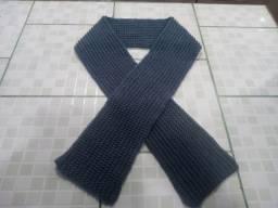 Manta / cachecol unissex em lã