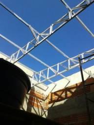 Sena simbron montagem de estrutura metálica