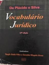 Vocabulário jurídico - de plácido e Silva