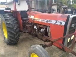 Trator Massey Ferguson 275 + Roçadeira