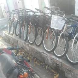 Promoção de bicicletas novas a vista 300