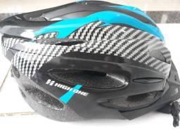 Vendo capacete e acessorios para bike