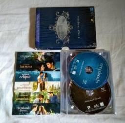 Blu-ray raro box filme original crepúsculo forever a saga completa edição de colecionador!