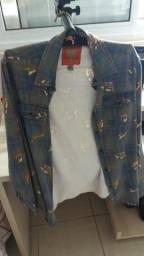Camisa manga longa (CAVALEIRA)