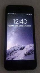 IPhone 5 com 32gb aceito troca
