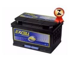 Bateria Excell FREE 60Ah - EXF60DD - Nova e com garantia de 12 meses