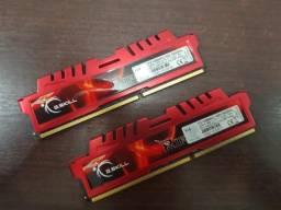 Memória RAM G.Skill RipJaws 2x8gb ddr3 1866mhz
