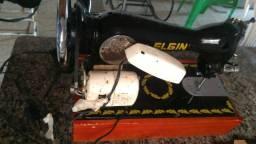 Máquina de costura linha reta Elgin