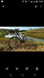 Bike MTB aro 29 top freio hidráulico Shimano alivio jogo de machas