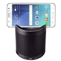 Caixa de Som Bluetooth com Suporte para Celular - NOVO