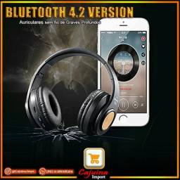 Headphone Armoon Hz-10 com entrada de cartão SD